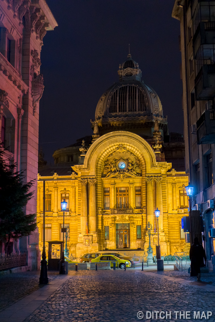 Around Town in Bucharest, Romania
