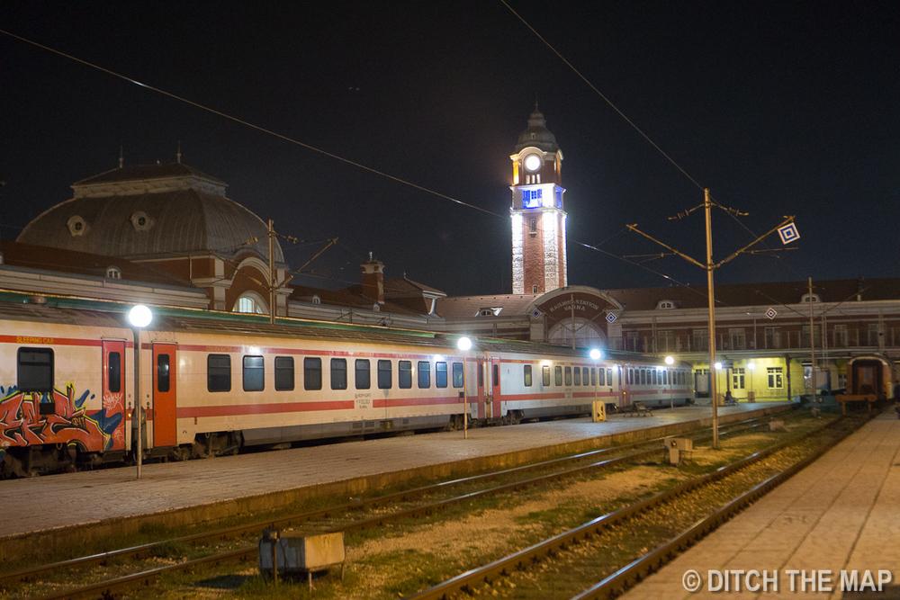 Arriving in Varna, Bulgaria