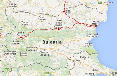 Days In Varna Veliko Tarnovo And Sofia Bulgaria Blog - Varna map