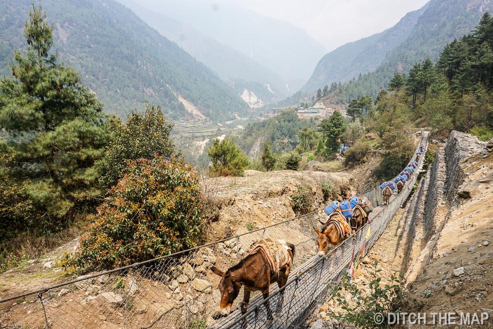 Lukla to Monju, Nepal