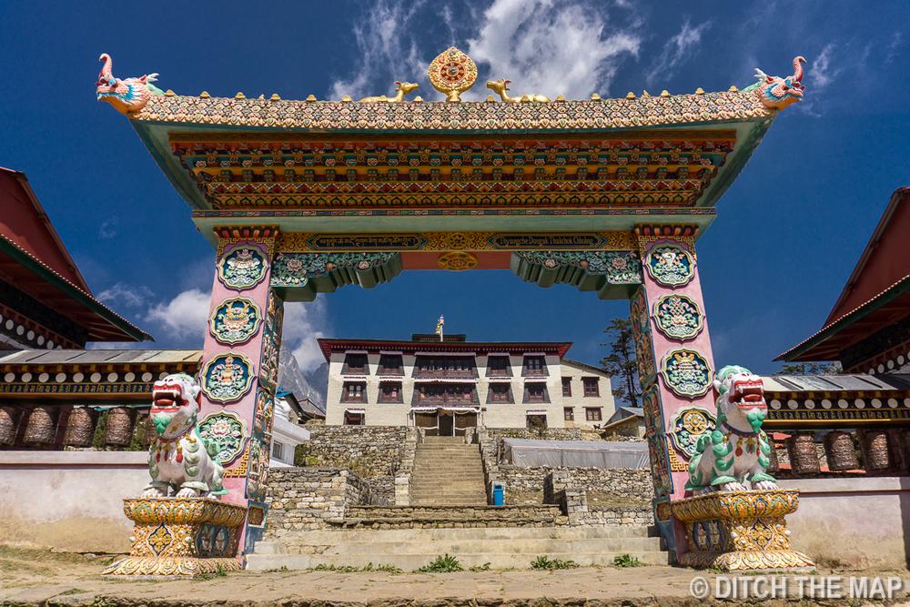 Monastery in Tengboche, Nepal