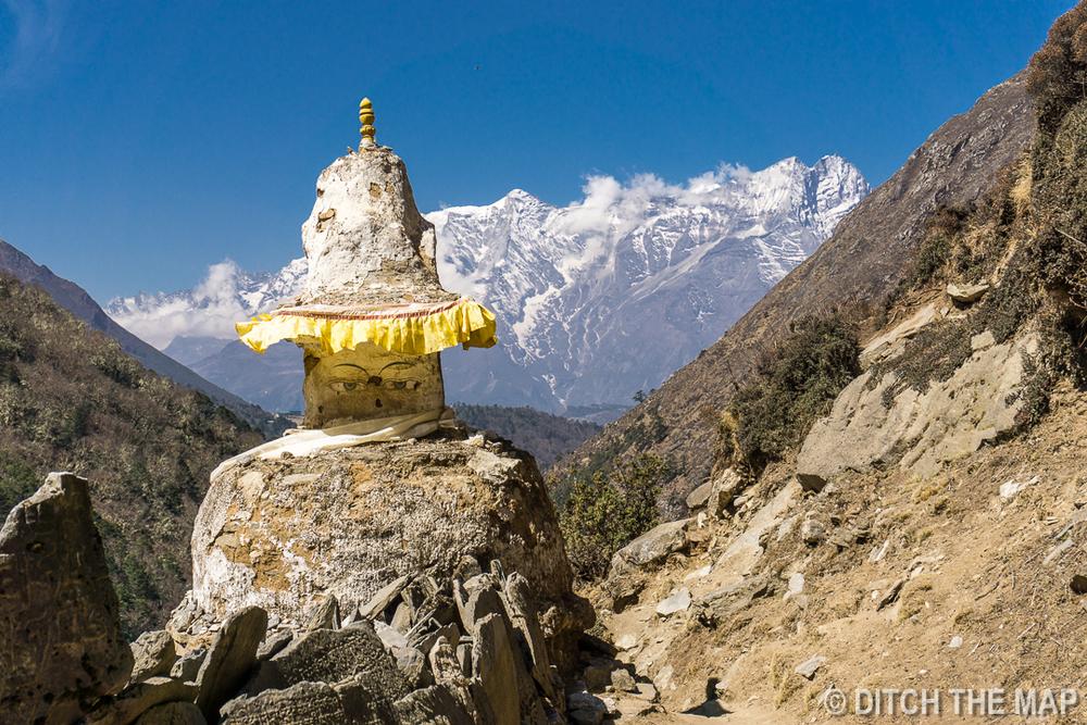 Tengboche to Dingboche, Nepal