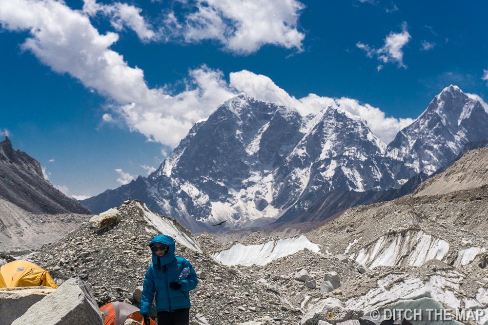 Gorak Shep to EBC, Nepal