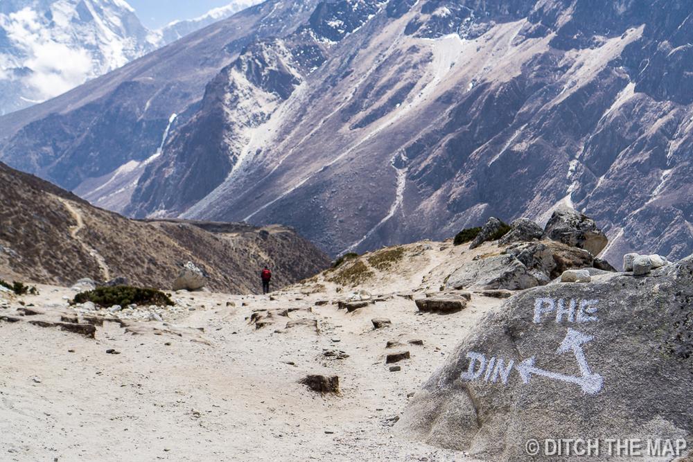 Gorak Shep to Pangboche, Nepal