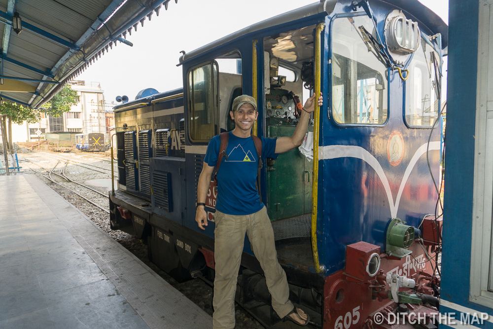 Taking the Toy Train into Darjeelng