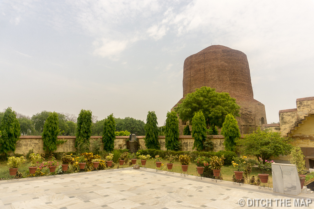 Sarnath, just outside Varanasi, India