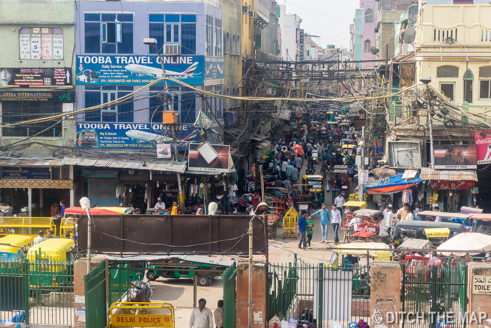 Streets of Delhi, India
