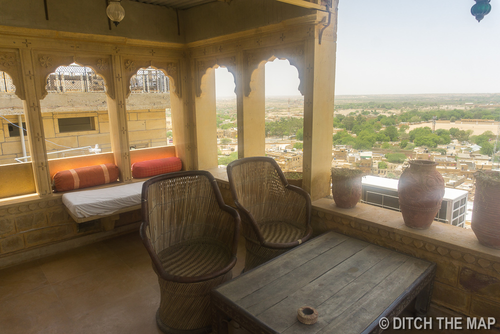 Roof Top at our Hotel in Jaisalmer, India