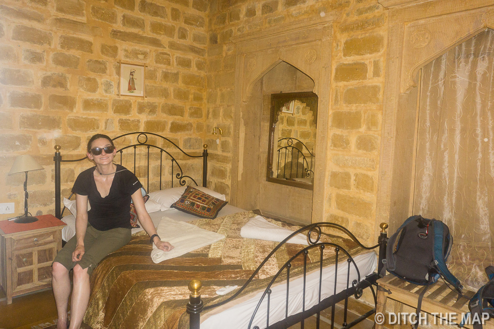 Our Hotel in Jaisalmer, India