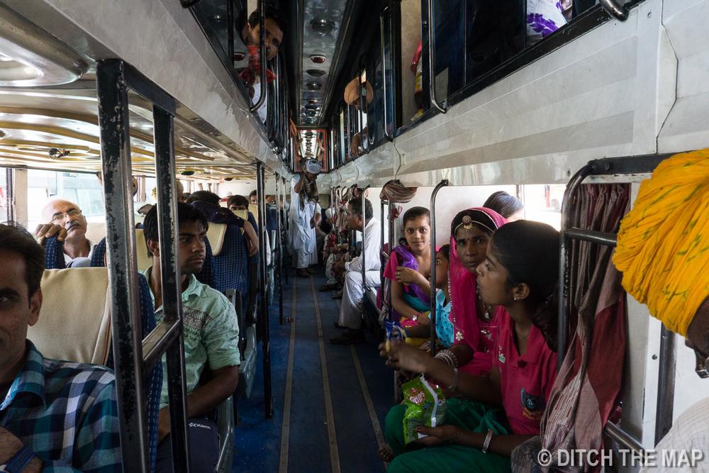 Bus to Jodhpur, India