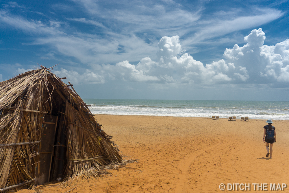 Exploring Candolim beach for the first time in North Goa, India