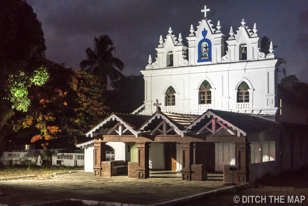 Catholic Church in Candolim, Goa