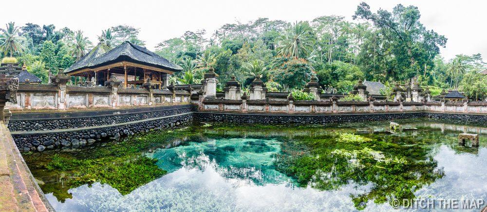 Holy Water Spring Temple in Ubud, Bali