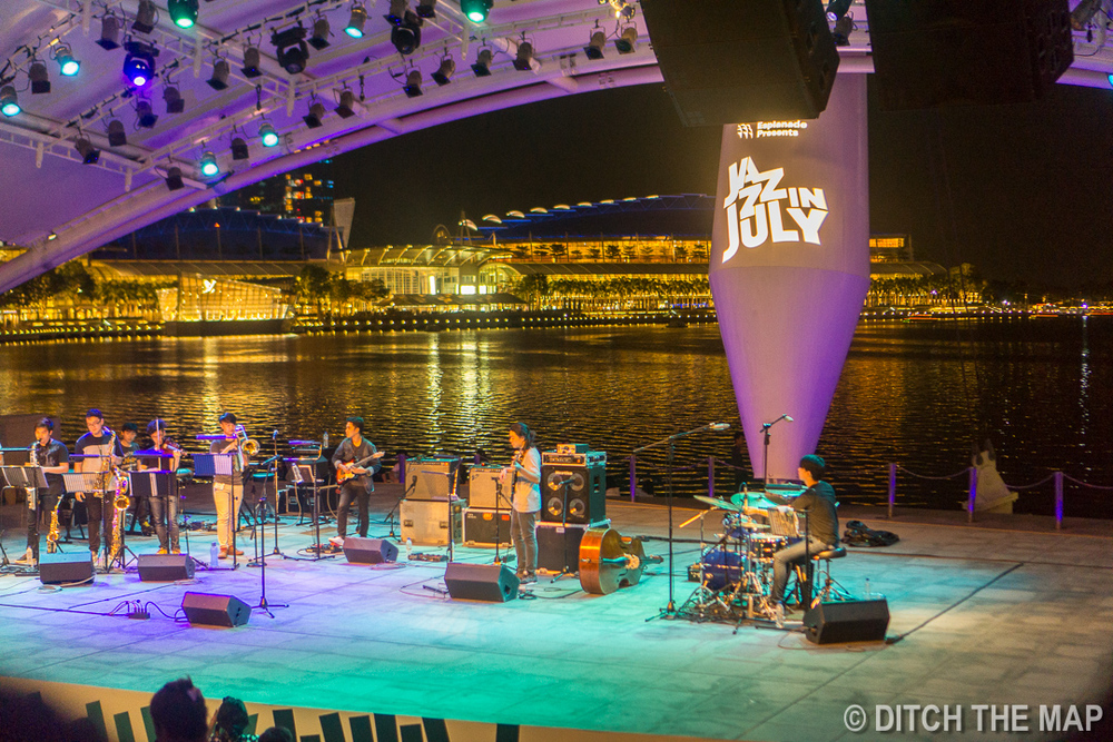 Live Music at Marina Bay, Singapore