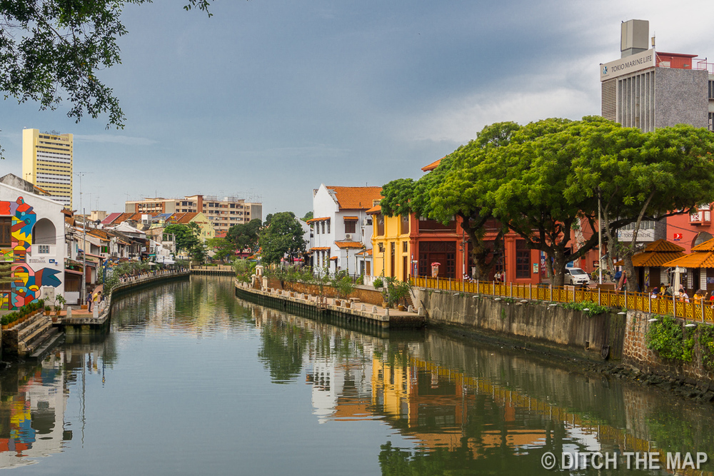 Canals of Malacca, Malaysia