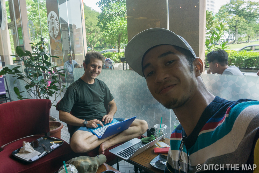 Our New Friend in Kuching, Sarawak, Borneo, Malaysia