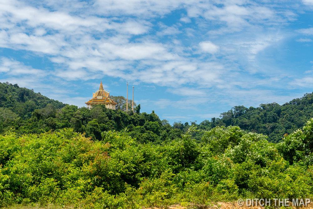 Wat Samathi in Kep, Cambodia