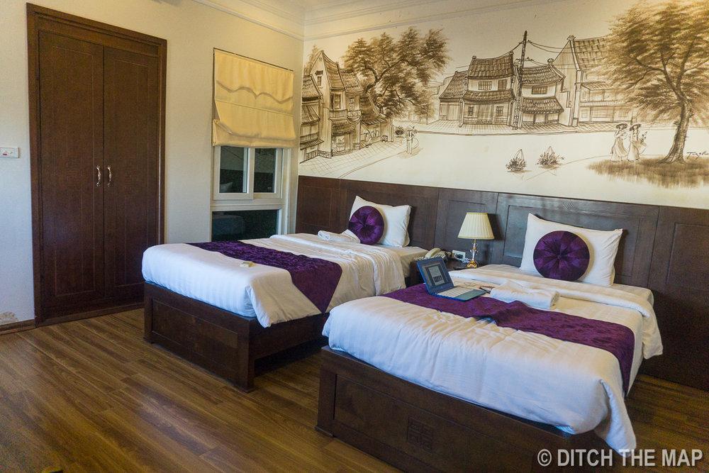 Our Lovely Hotel Room in Hanoi, Vietnam