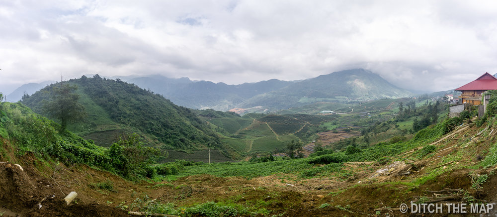 View of Sapa, Vietnam