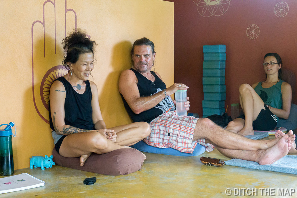 Yoga Philosophy at Xhale Yoga Retreat, Pai, Thailand