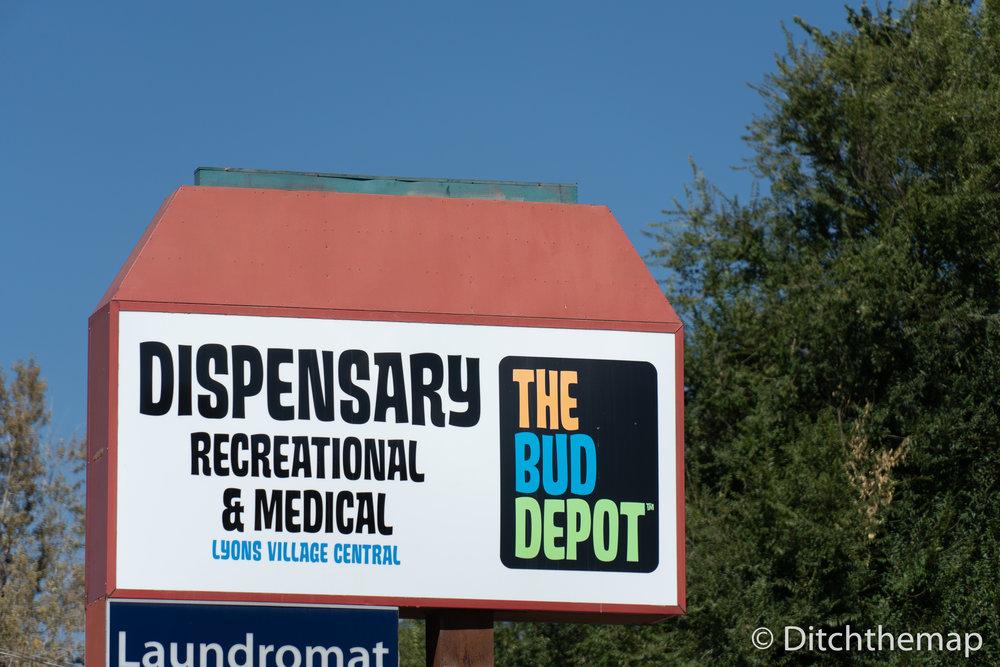 Typical Dispensary in Colorado