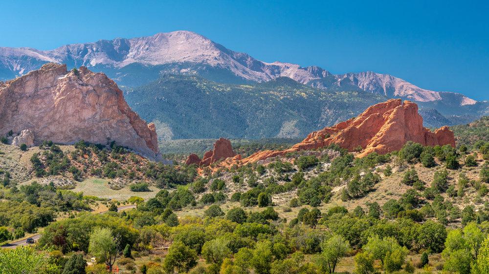 Garden of the Gods, 1.5 hours south of Denver, Colorado