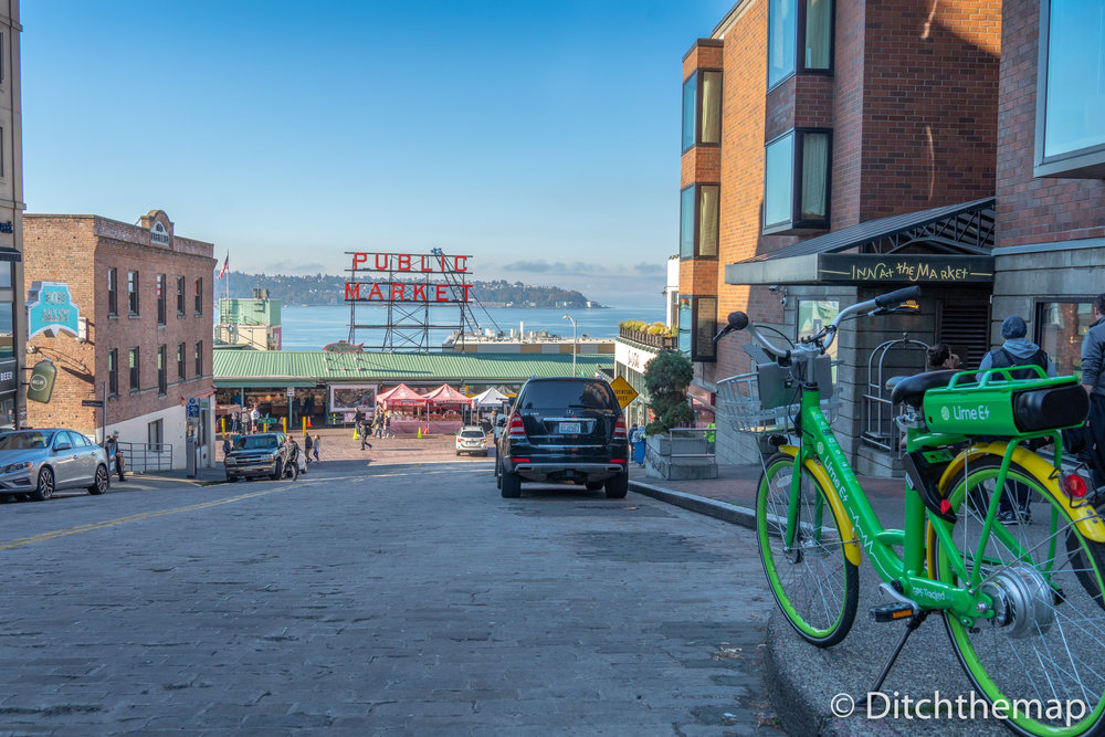 The Front of Pike Place Market - Public Market