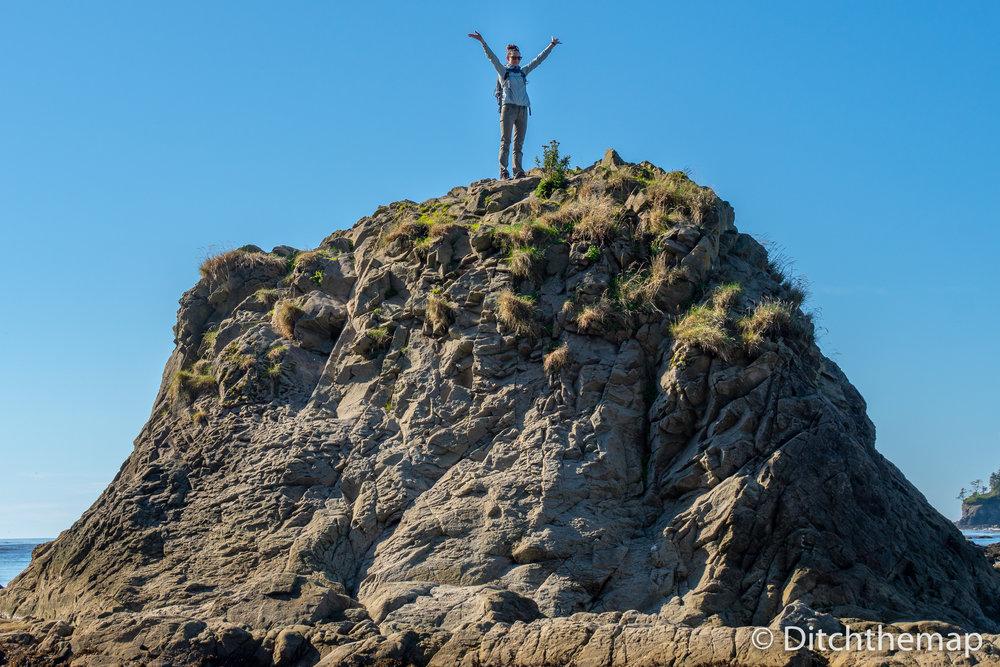 Along the rocky Washington coastline - Sylvie