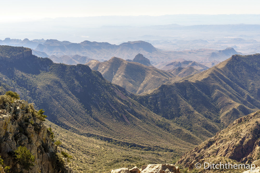 Emory Peak out and back Trail in Big Bend, National Park Texas
