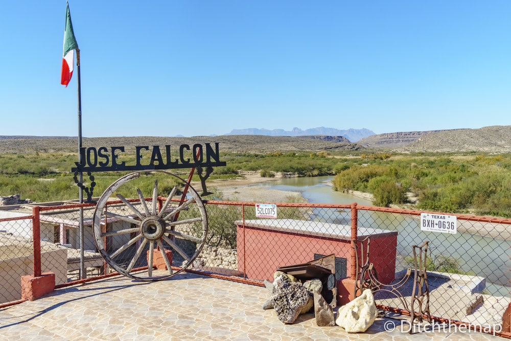 Views from the city of Boquillas inside the Jose Falcon Restaura