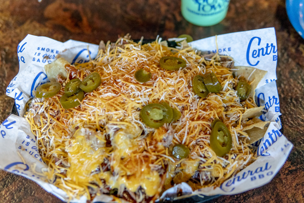 Barbeque Nachos in Memphis