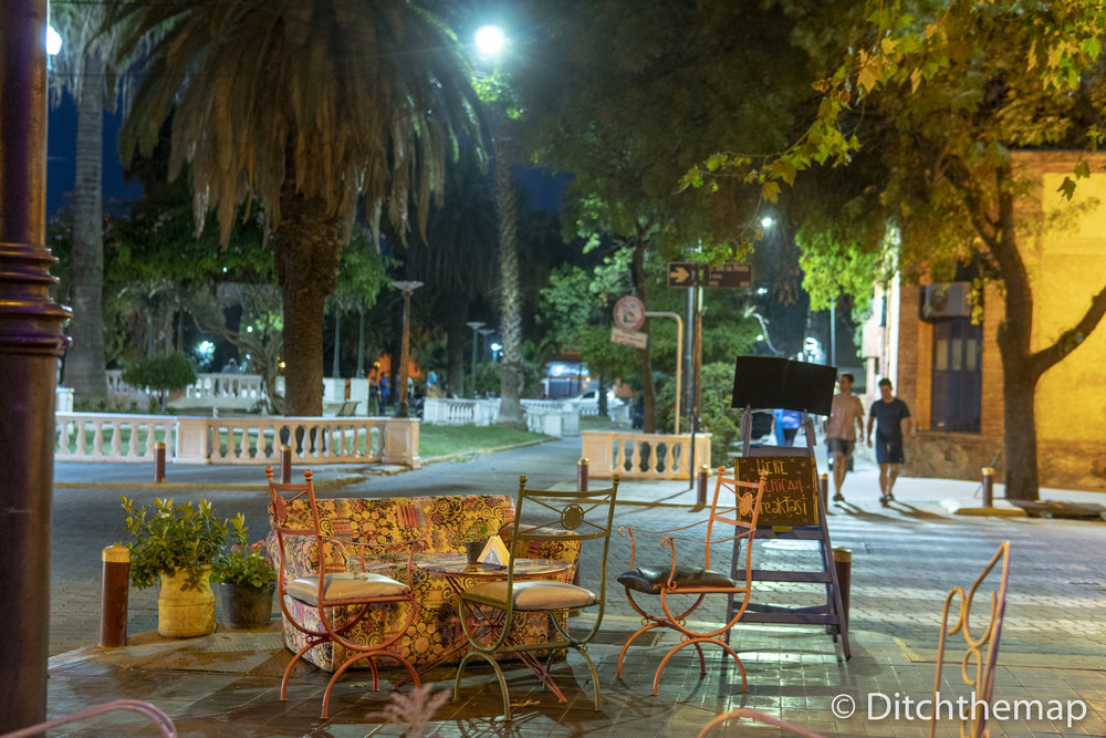 Beirut Cafe in Mendoza, Argentina