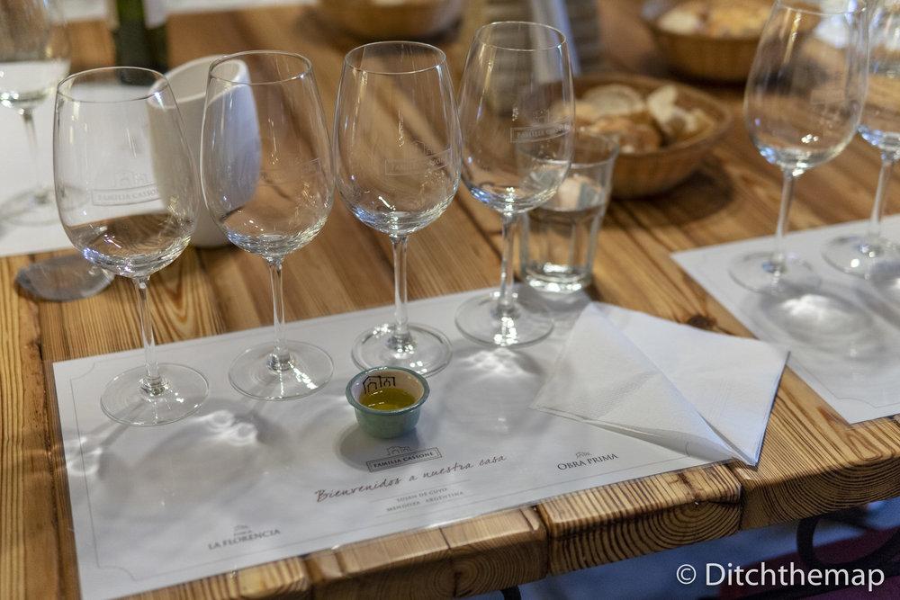 Tasting Room in Vineyard