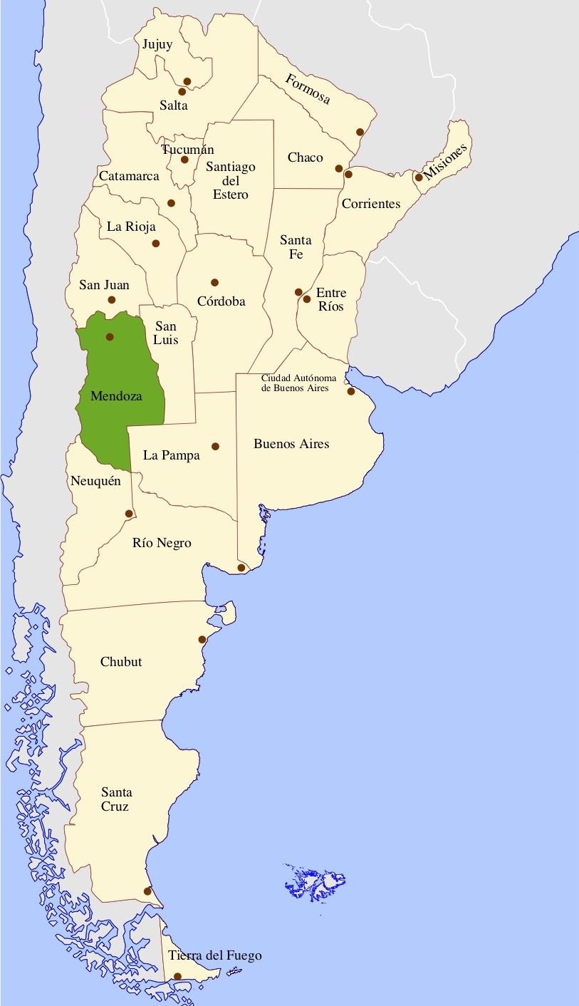 provinces in argentina
