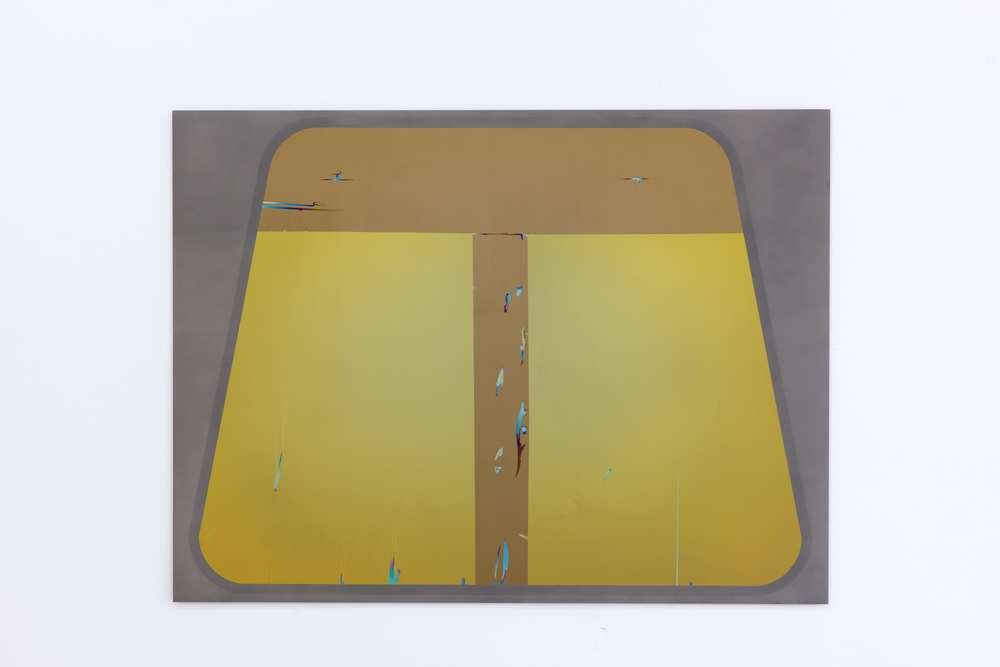 Nathaniel de Large M-106XSD, 2014 Anodized titanium,36 × 48 inches