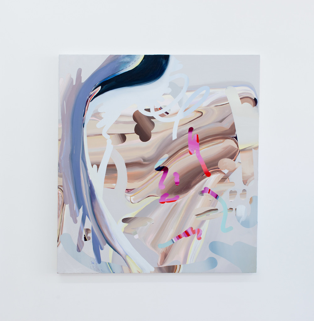 Ilana Savdie Facewaver No. 1, 2015 Oil on canvas,48 x 44 inches