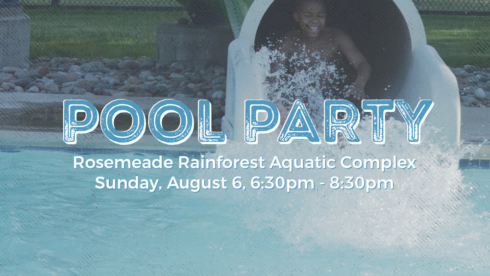 Pool Party valley view christian church