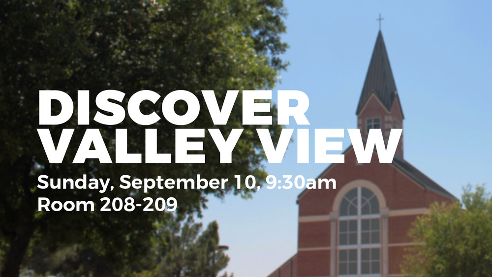 discover valley view dallas church