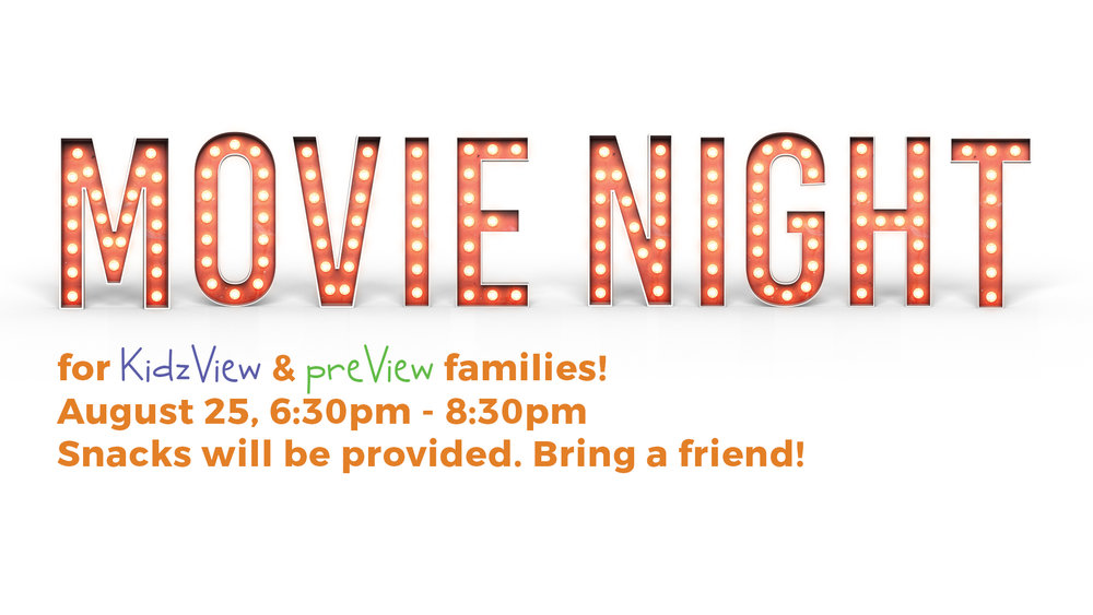 kidzview preview movie night valley view