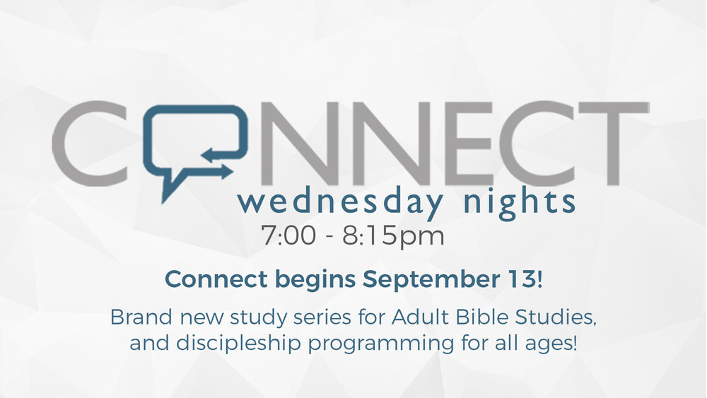 Wednesday Night Connect