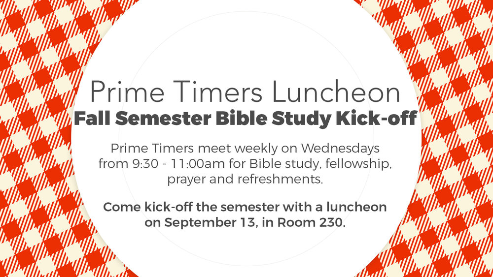 prime timers luncheon valley view christian church