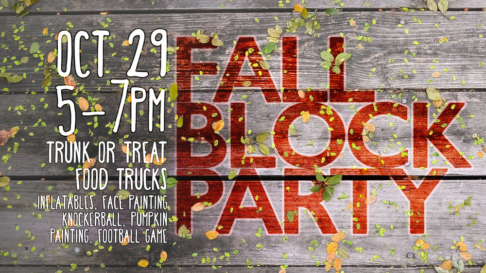 fall block party trunk or treat valley view dallas