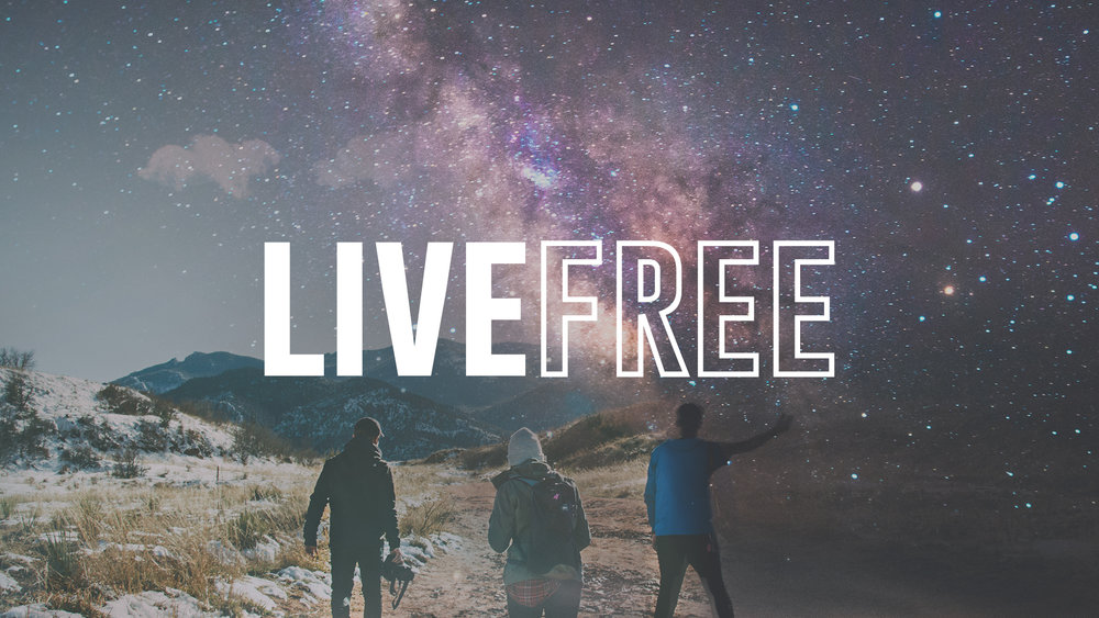 What does it mean to live free? We thrive as transformed people, unburdened and unhindered by sin and fear.
