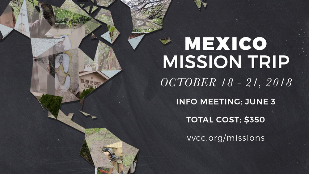 mexico mission trip info meeting