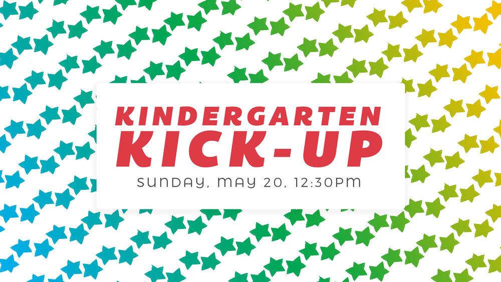 Kindergarten Kick-Up Promotion Graduate valley view dallas