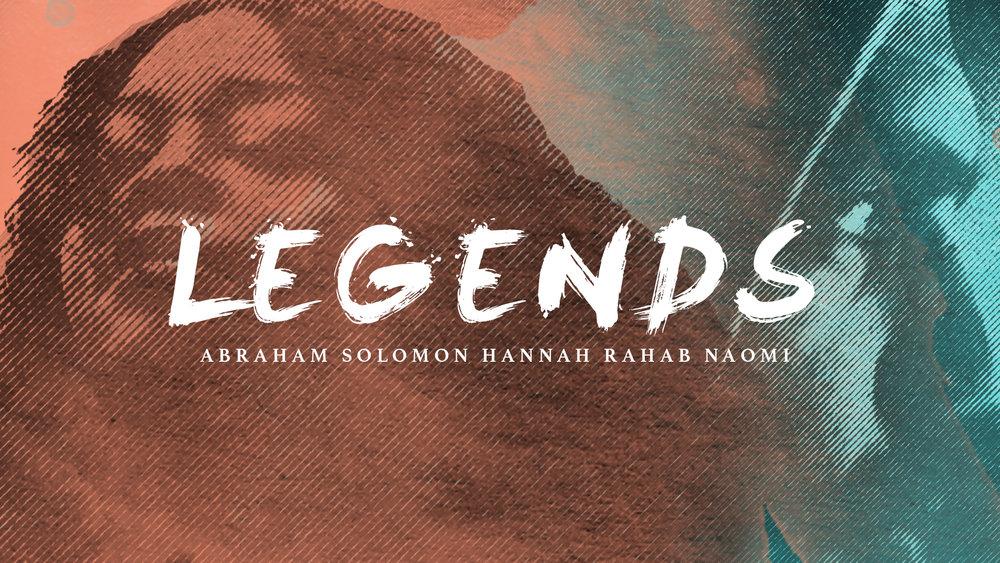 Legends - June 10 - August 5, 2018