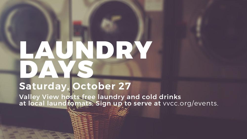 laundry days october dallas