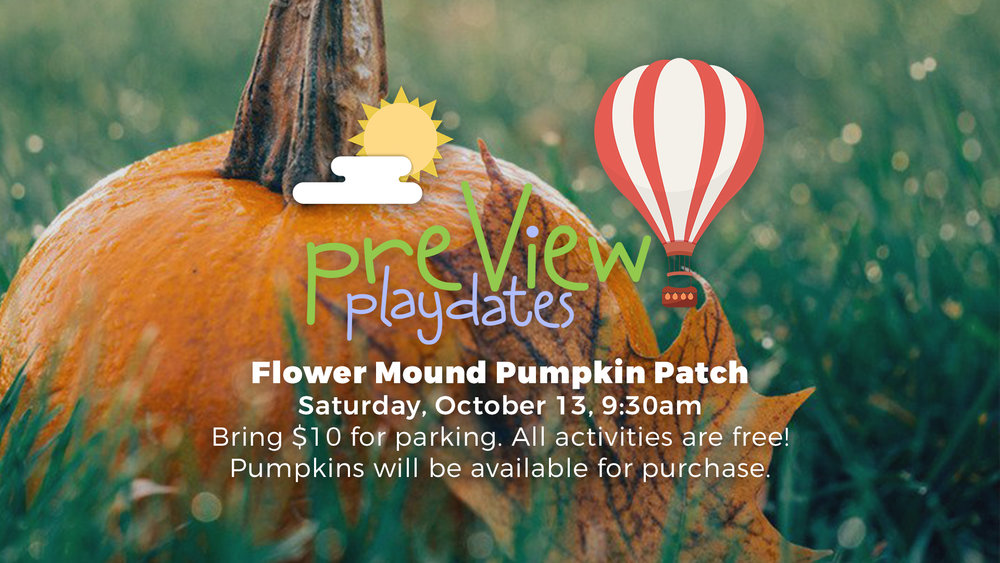 preview preschool event valley view dallas pumpkin patch trip