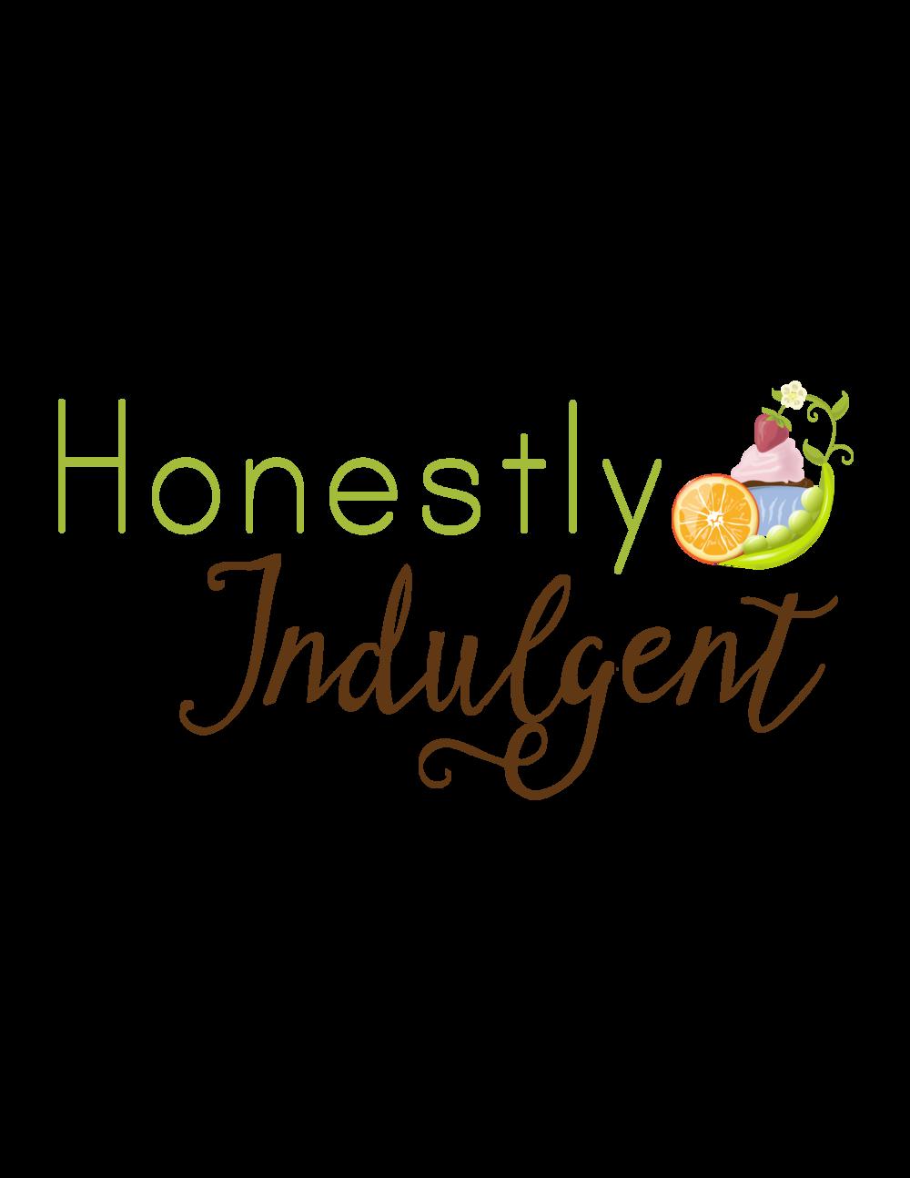HONESTLY INDULGENT: BLOG LOGO