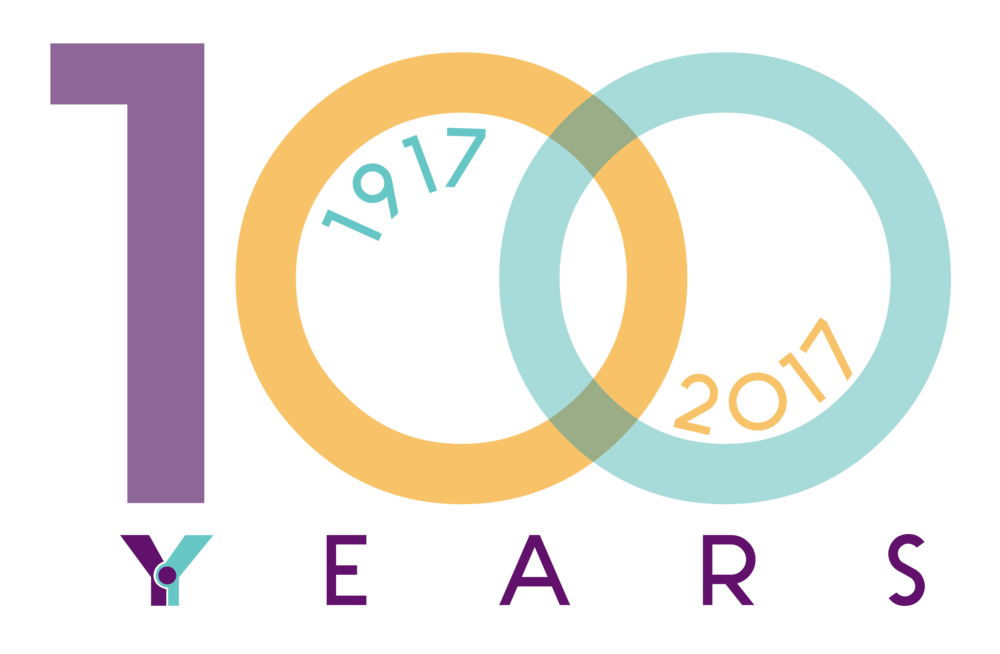 Y's 100 Years Logo